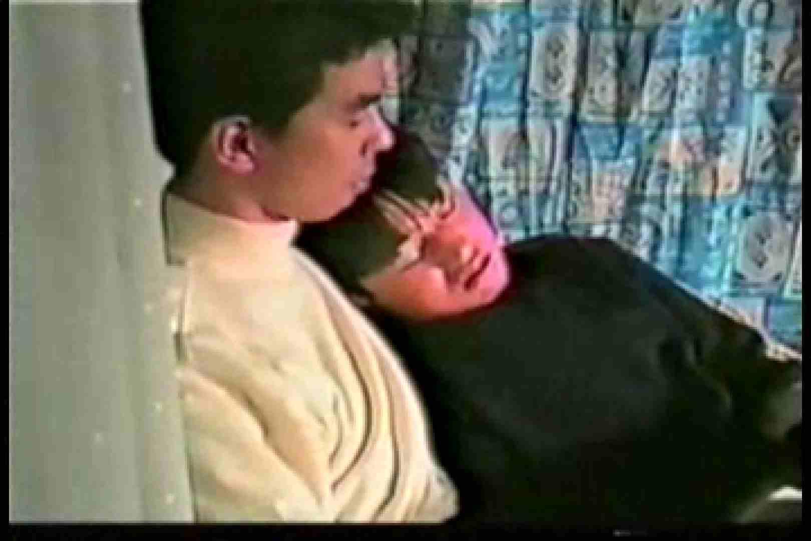 【流出投稿】若きあの頃の思ひでSEX! キスするメンズ ゲイSEX画像 94画像 35