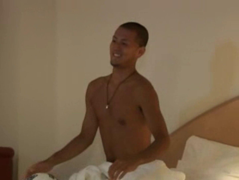 すっきり坊主のサッカー青年のイメージ撮影 男の世界 ゲイ射精画像 87画像 20