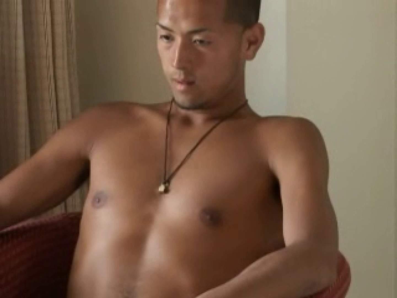 すっきり坊主のサッカー青年のイメージ撮影 男の世界 ゲイ射精画像 87画像 56