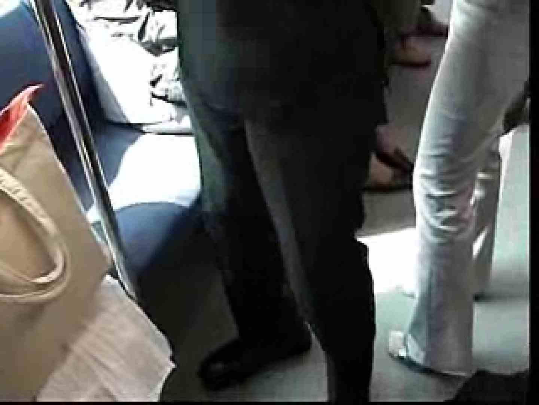 電車内でリーマンの股間撮影 車内   メンズスーツ  80画像 49