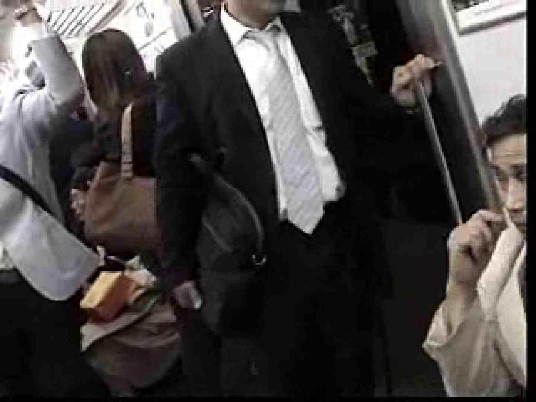 電車内でリーマンの股間撮影 車内  80画像 52