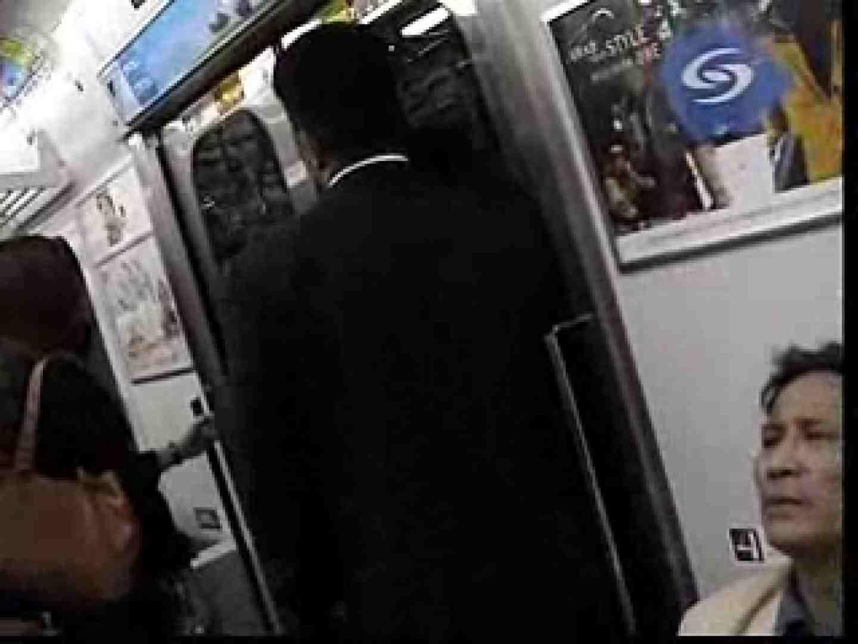 電車内でリーマンの股間撮影 車内   メンズスーツ  80画像 57