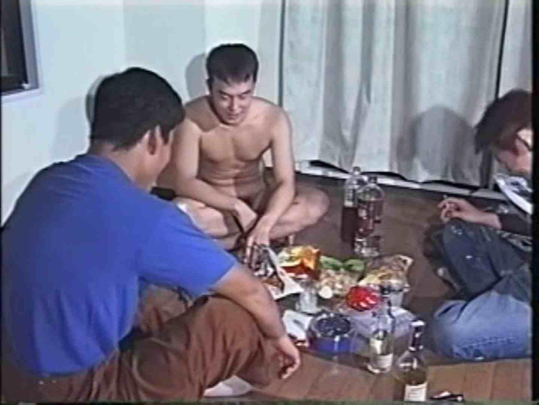 俺たち全裸で宅飲み! !何やってんネン ノンケの裸  85画像 33
