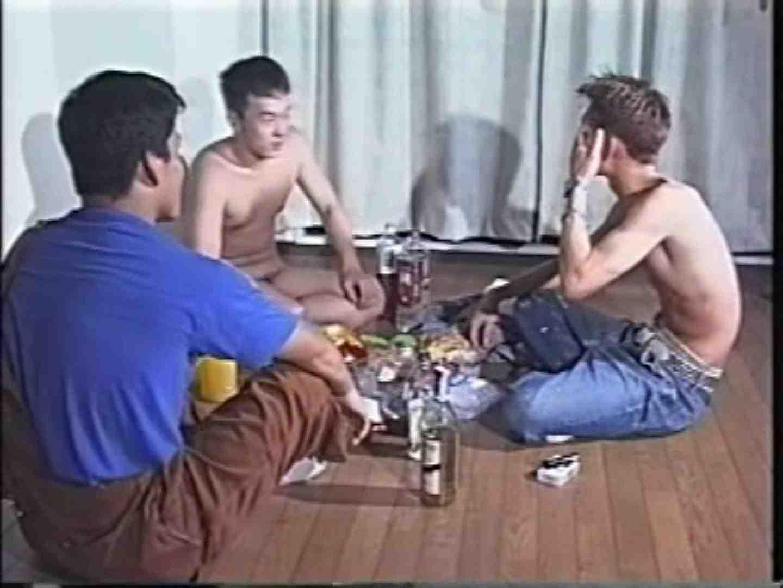 俺たち全裸で宅飲み! !何やってんネン ノンケの裸  85画像 42