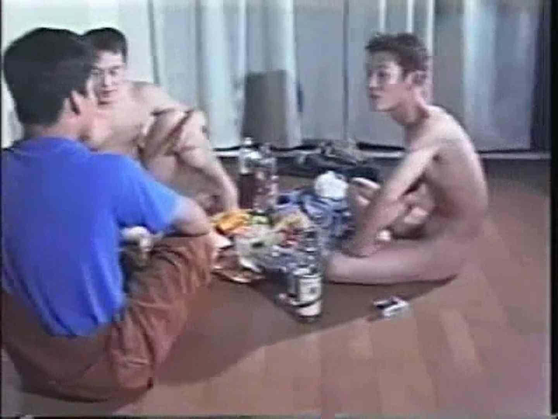 俺たち全裸で宅飲み! !何やってんネン ノンケの裸  85画像 48