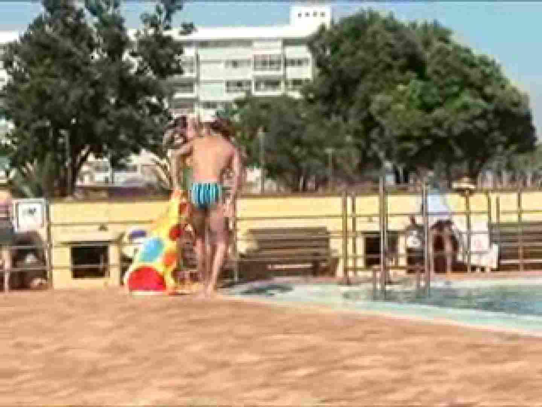 猛烈ファック! ! 激熱の白人さん メンズのカップル   プール編  81画像 29