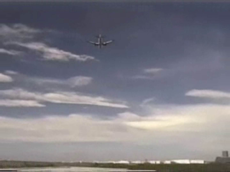 晴天の青空の下、空き地でSEX! マッチョ | 野外  65画像 1