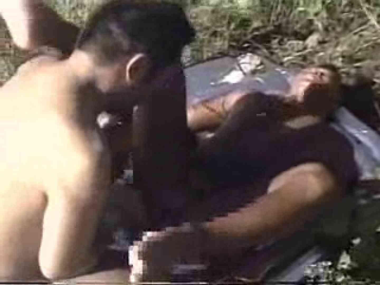 晴天の青空の下、空き地でSEX! ノンケの裸 ゲイエロ動画紹介 65画像 27