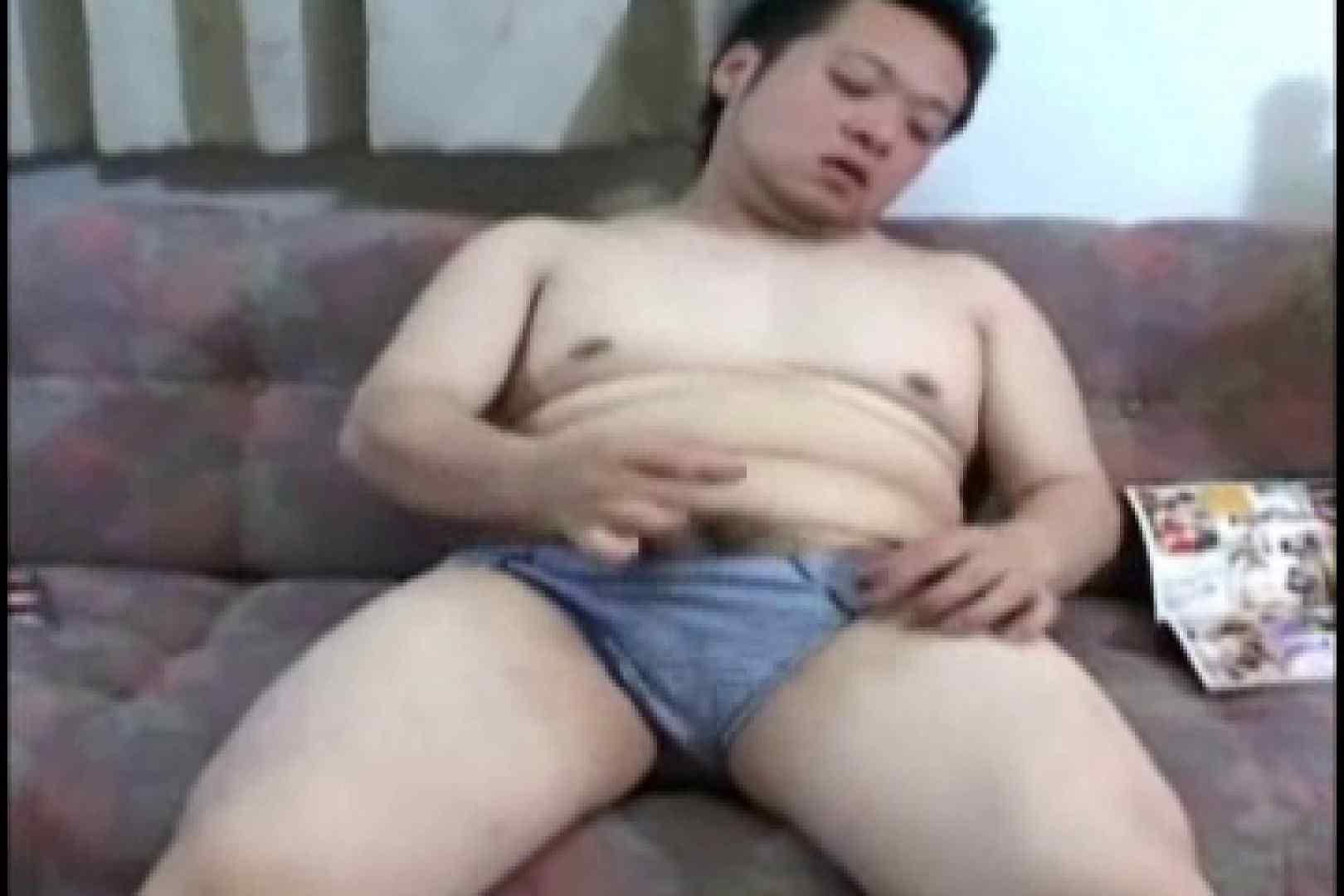 小太りボーイの孫の手オナニー シコシコ 男同士動画 70画像 41