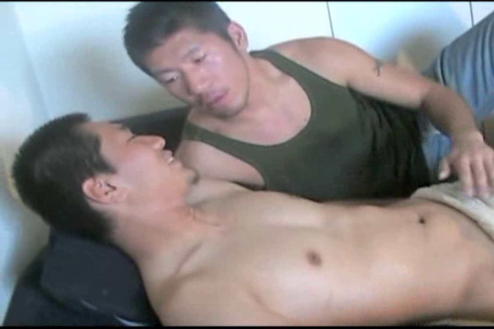 ノンケガチムチ男子の男イキ初体験!! 男の世界 ゲイSEX画像 53画像 20