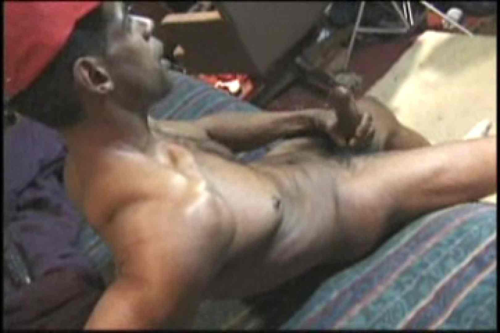 ファンキーな黒人さん!!BLACK POWER 01 オナニー専門男子 ゲイ無修正ビデオ画像 101画像 35