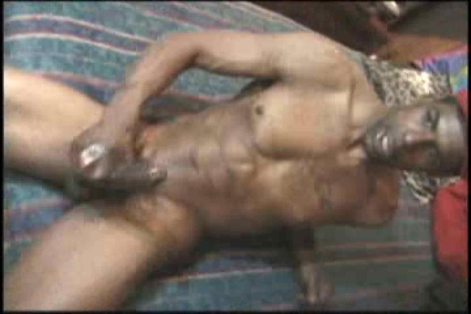 ファンキーな黒人さん!!BLACK POWER 01 オナニー専門男子 ゲイ無修正ビデオ画像 101画像 47