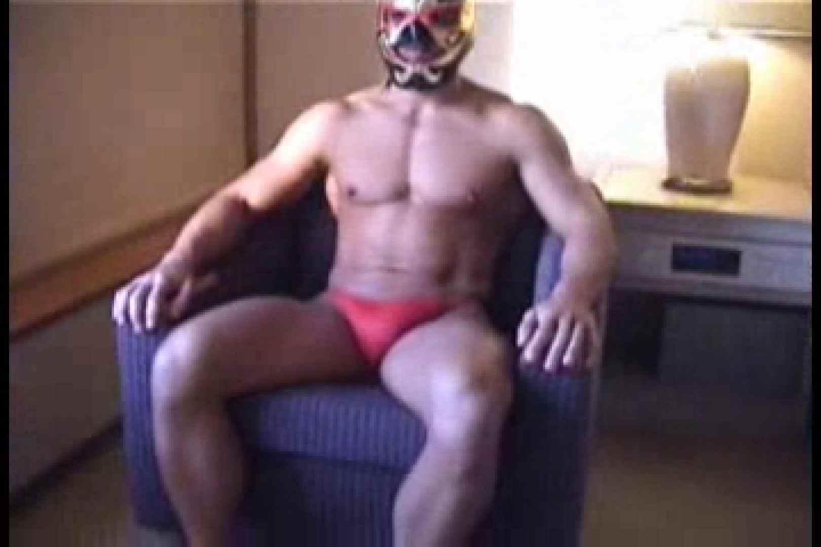 性器の味方ムキムキ覆面マッチョマン 男の世界  106画像 69